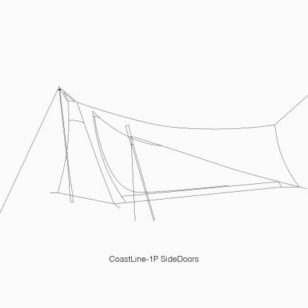 TFS WhiteLabel CoastLine-1P SD Tent